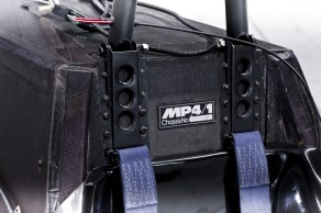 Picture of the MP4/1 chassis badge