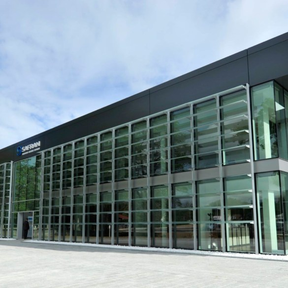 Safran's new composites facility in france