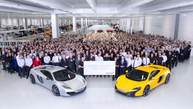 Photo of McLaren Celebrates 5,000th Carbon Fibre MonoCell Chassis