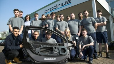 Photo of Prodrive Apprentices Pass Composites Engineering NVQ