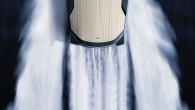 Photo of Aston Martin to Hit the Waves with New Composite Powerboat