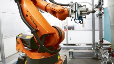 Photo of AMRC's Robot Cuts the Cost of Producing Composite Components