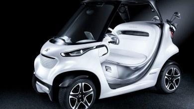 Photo of Mercedes Unveils New Carbon Fibre Golf Car
