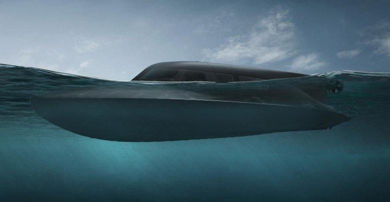 Photo of Royal Navy testing new carbon fibre speedboat that turns into Submarine