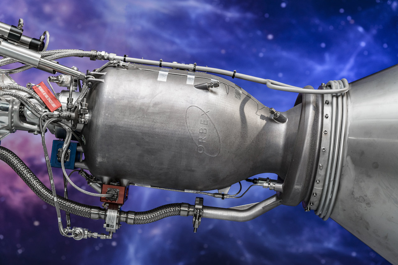 Orbex's 3-D printed rocket engine is uniquely manufactured in a single piece without joins