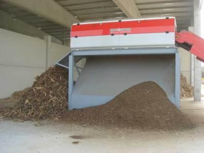 Máquina de separación de materia orgánica para compost