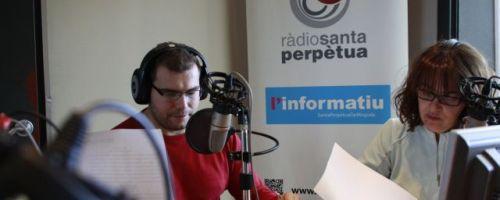 Hablando sobre «té de compost» en el programa de radio «Pagesos de ciutat»