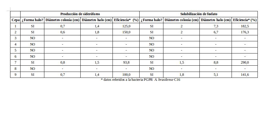 Datos PGPR