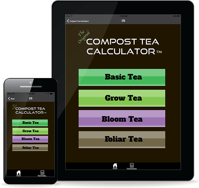 The Original Compost Tea Calculator