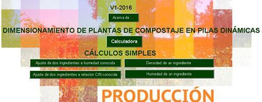 Desarrollan una calculadora online para hacer compostaje en pilas dinámicas