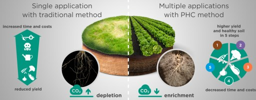 El suelo es un organismo viviente