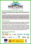 HORTGANIC materia organica