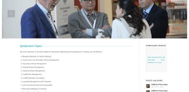 Cuarta edicion del EurAsia Waste Management Symposium, 2-4 de mayo de 2018 (Estambul, Turquia).