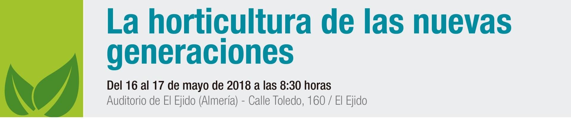Participo en el II Simposio sobre Agricultura Ecológica, El Ejido (Almería), 16 y 17 de mayo de 2018