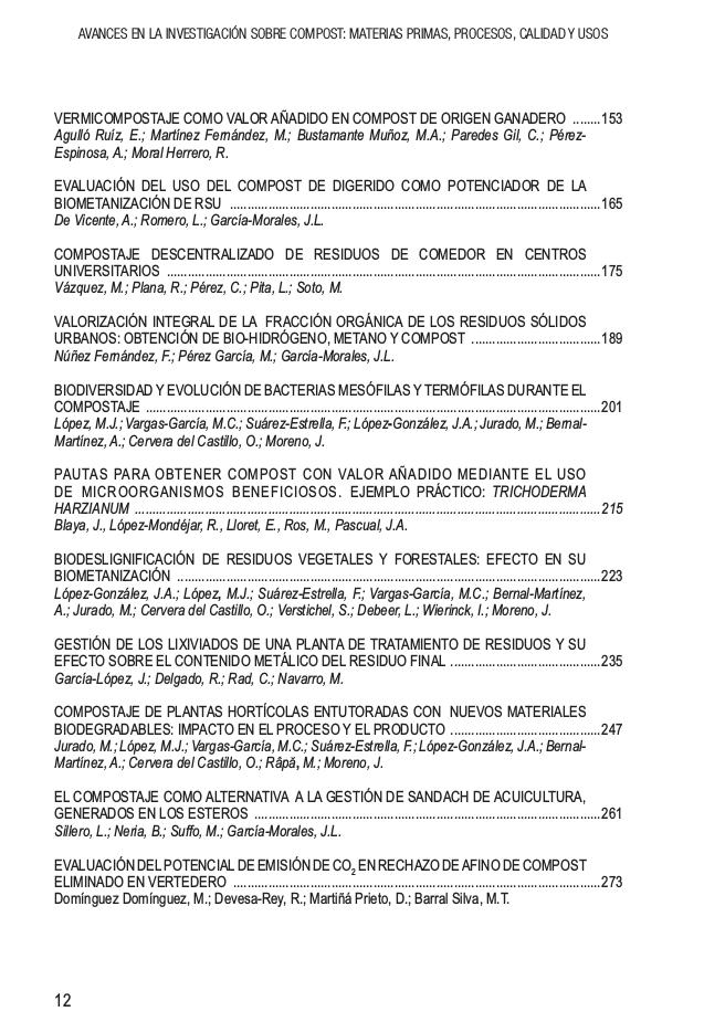 Ponencias de las III jornadas de la Red Española de Compostaje (REC)
