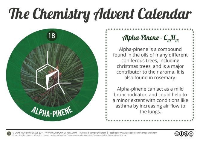 18 - Alpha Pinene & Christmas Tree