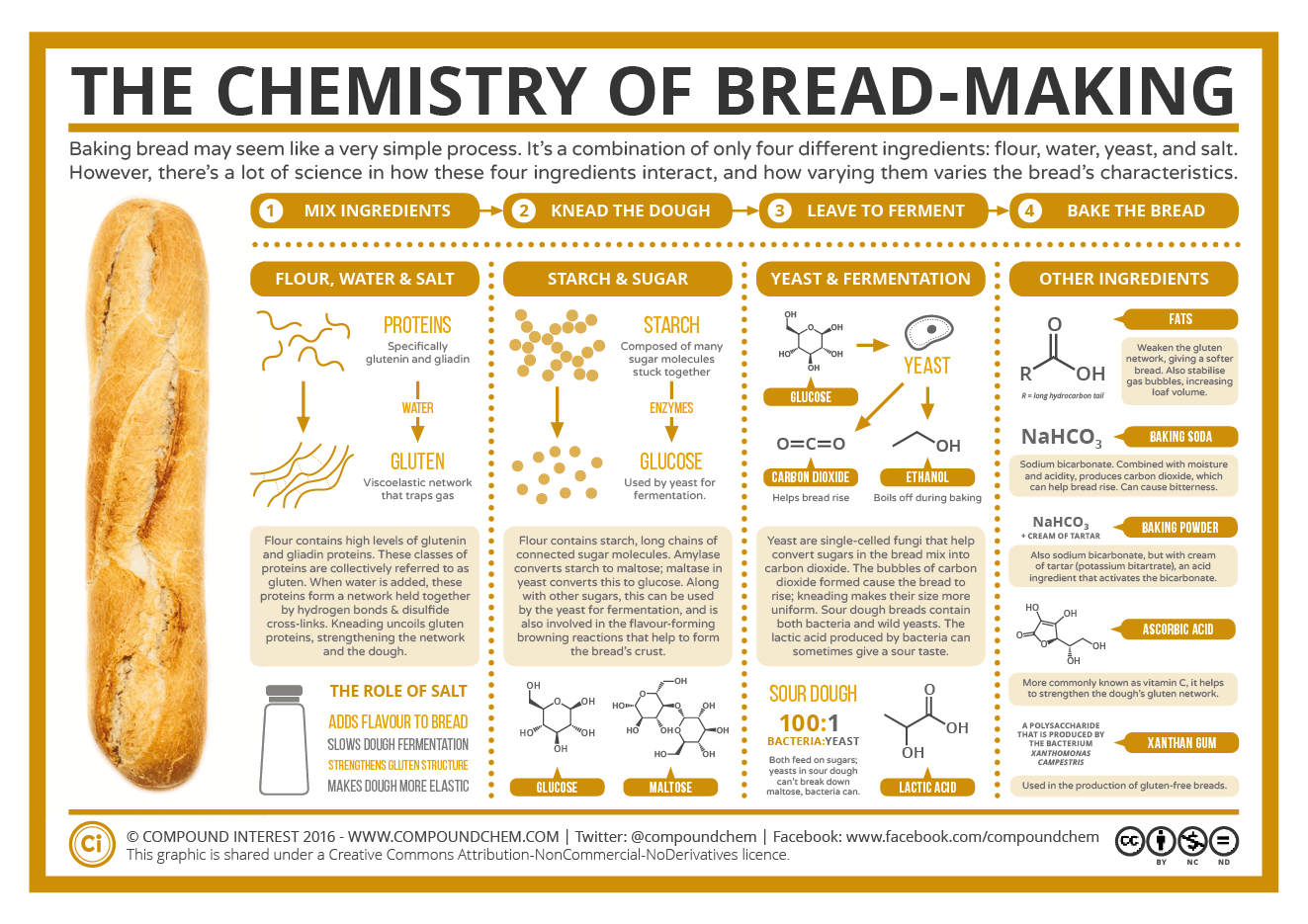 Baking Bread The Chemistry Of Bread Making