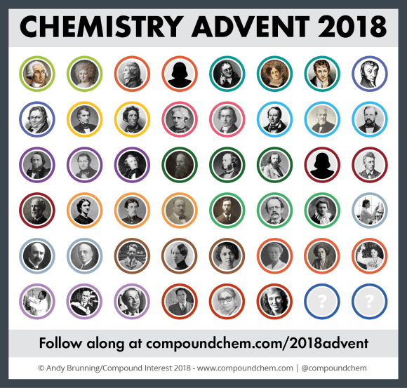 2018 Chemistry Advent so far