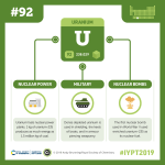 IYPT 2019 Elements 092: Uranium: Nuclear power, bombs, and weaponry