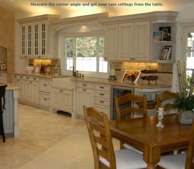 Installing Crown Molding On Kitchen Cabinets: Kitchen Cabinets To The Ceiling Or Not