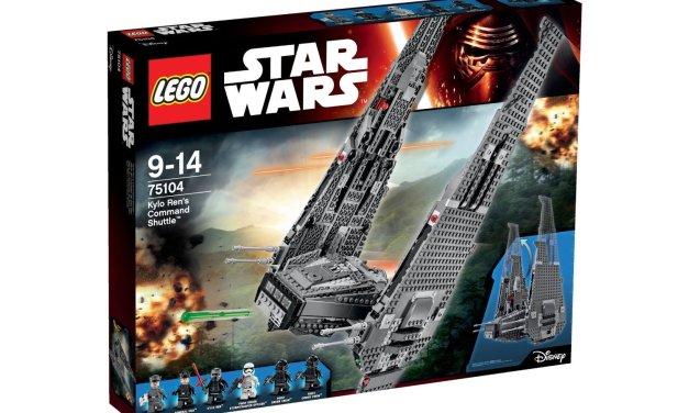 Nave de Combate de Kylo Ren de LEGO