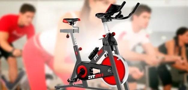 Bicicleta spinning FITFIU para ponerte en forma