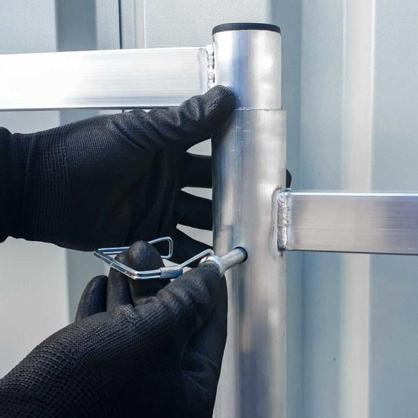 montaje andamio de aluminio