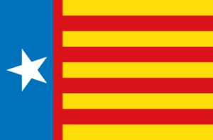 Estrelada o señera nacionalista valenciana