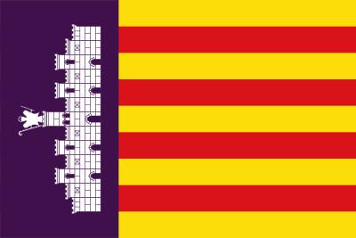 Bandera De Las Islas Baleares El Blog De Comprarbanderas Es