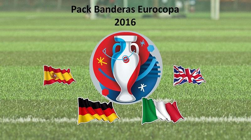 Pack banderas eurocopa 2016
