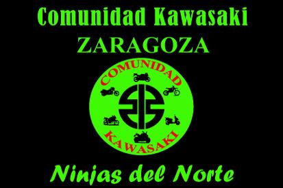 Bandera Comunidad Kawasaki Zaragoza