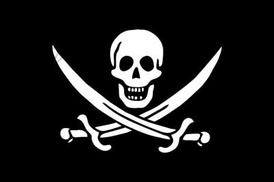 Comprar bandera Pirata jack rackham