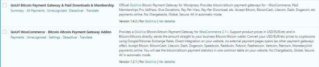 instalar plugin bitcoin para wordpress