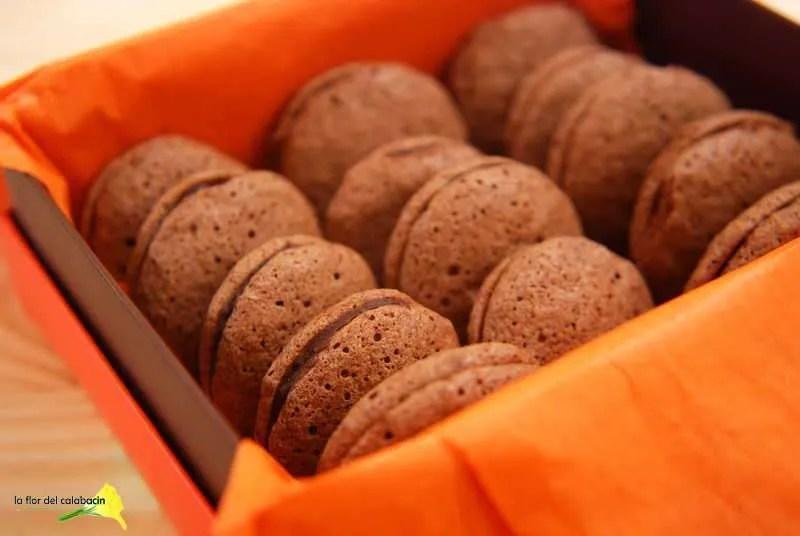Ganache de kéfir y naranja para mis primeros Macarons