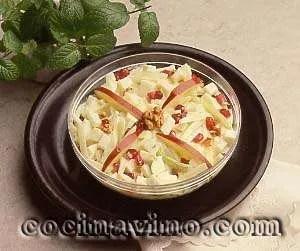 Ensalada de Tofu, Manzana y Kéfir