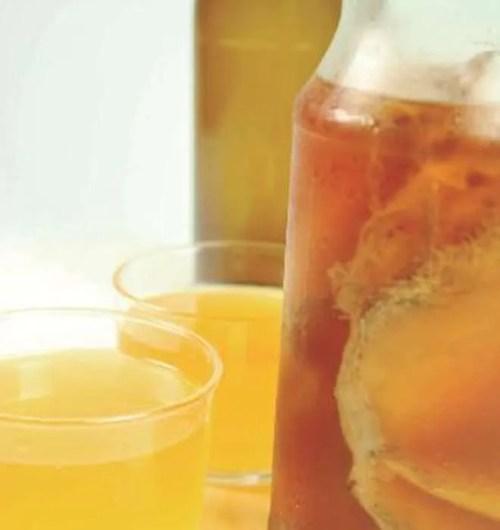 Bebida de Kombucha