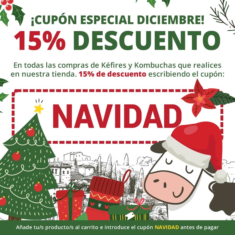 Cupón de descuento 15% - Mes de Diciembre