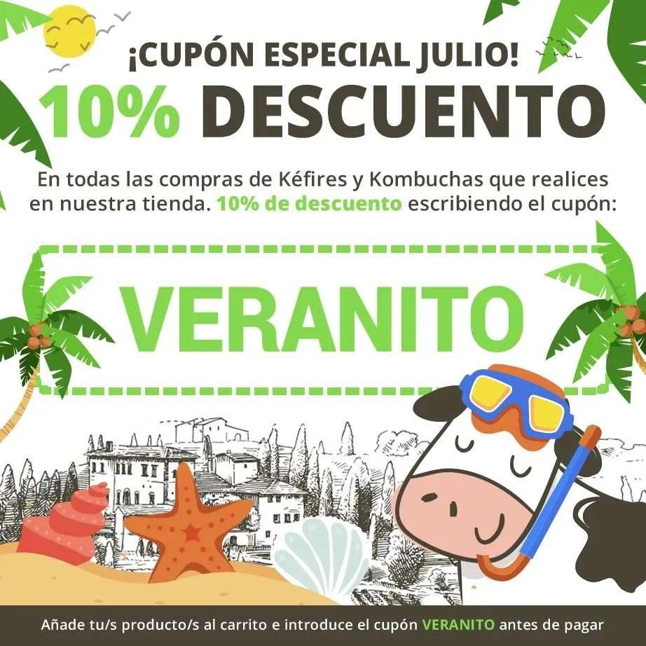 Cupón de descuento 10% - Mes de Julio