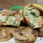 Receta de Muffins de verduras y Kéfir