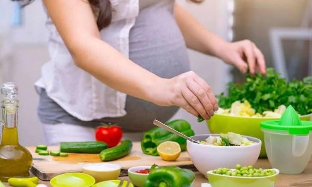 La importancia de la alimentación si piensas quedarte embarazada