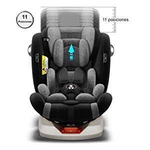 Posiciones en altura silla de coche Babify On Board - comprar en Amazon