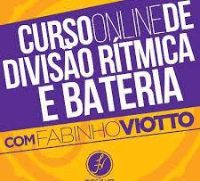 Curso de Divisão Rítmica Bateria Fabinho Viotto
