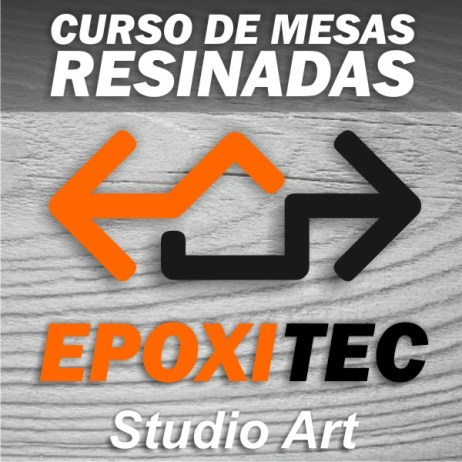 Curso de Mesas Resinadas River Table Epoxitec Studio Art
