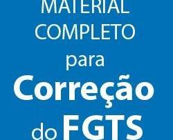 Material Completo Para Correção Do FGTS