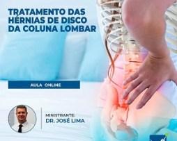 CURSO DE TERAPIA MANUAL NO TRATAMENTO DAS HÉRNIAS DE DISCO DA COLUNA LOMBAR