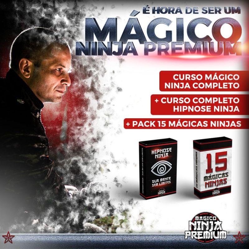 Pocket Mágico Ninja Premium