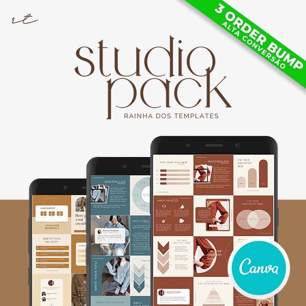 Studio Pack - Rainha dos Templates