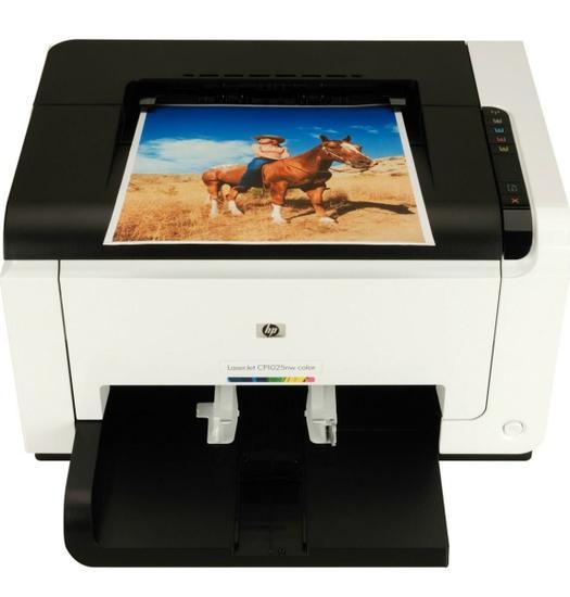 Impressora HP Laserjet CP1025NW Wireless no Paraguai - ComprasParaguai.com.br