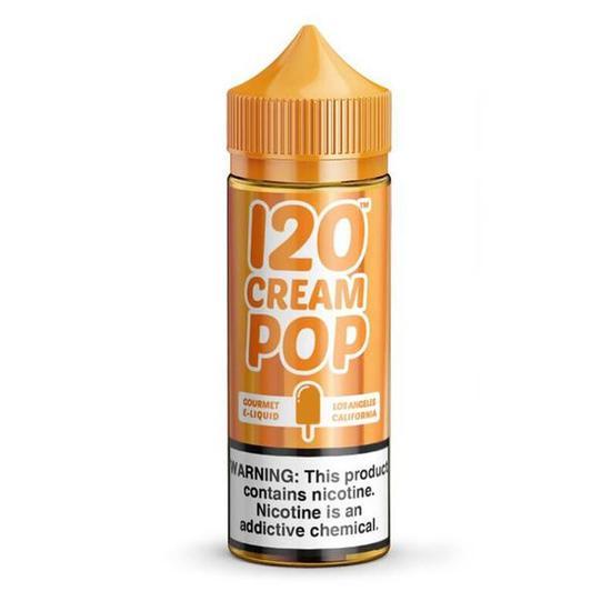 Essencia Liquida 120 Cream Pop 6MG 120ML na loja Pioneer International no Paraguai - ComprasParaguai.com.br