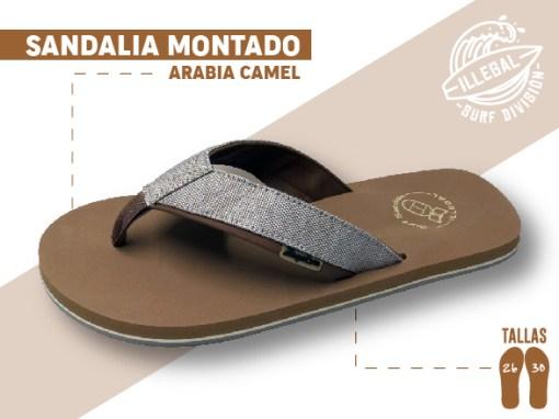 <b>SANDALIA MARCA ILEGAL</b>  <b>PARA CABALLERO</b>  <strong>COLOR Café y tela</strong>  <b>TALLAS DEL 26 A 30 CM</b>  <b>PRECIO ESPECIAL A MAYORISTAS</b>  <b>mayoreo@comprastodo.com</b>  <b>SOMOS FABRICANTES</b> Sandalia Arabia Camel